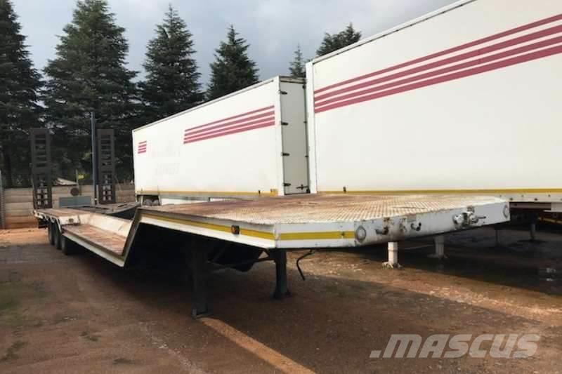 Afrit Tri Axle Stepdeck Trailer