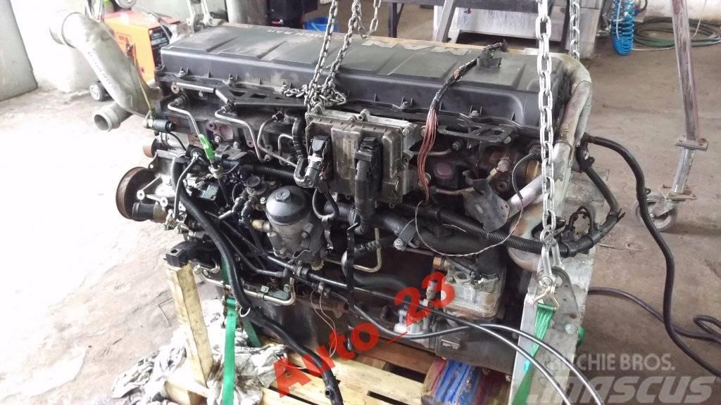 [Other] Silnik MAN TGA TGS TGX D2066 LF E5 Euro5