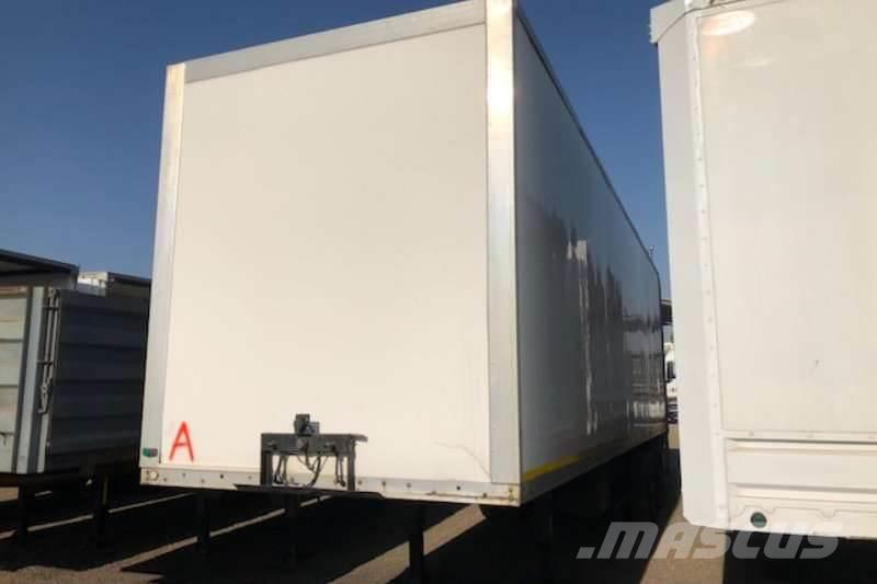 Henred Numerous 2 Axle Refrigerator Trailer without unit