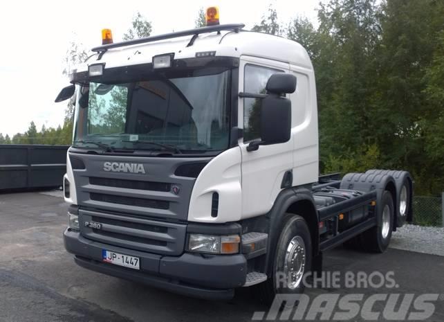 Scania P 380 6x2