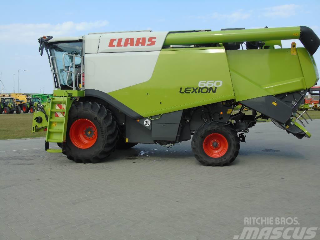 CLAAS LEXION 660 4I