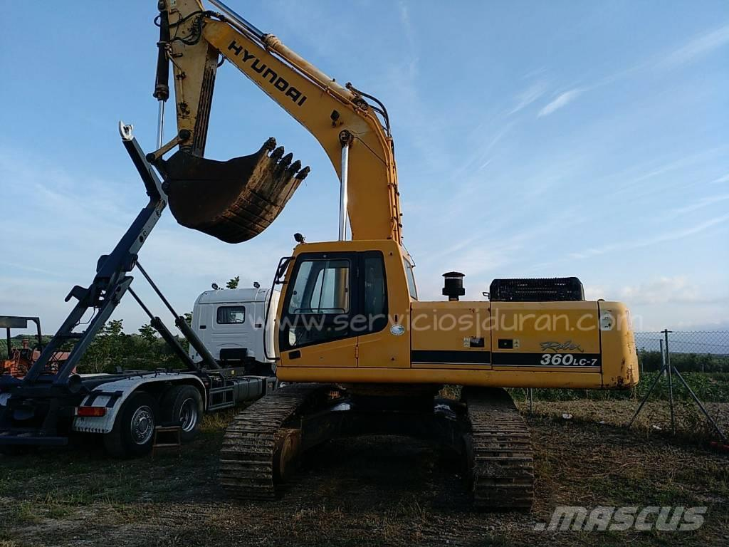 Hyundai Robex 360 LC-7, 2004, Crawler Excavators ...