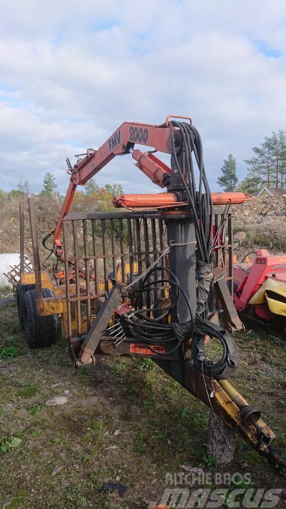 Moheda skogsvagn FMV2000-kran