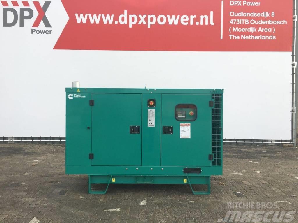 Cummins C44 D5e - 44 kVA Generator - DPX-18505