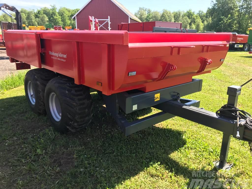 Waldung 9 ton för traktorgrävare extrautrustad