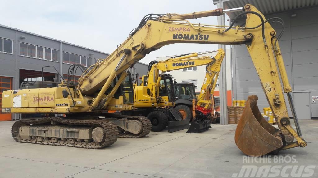 Komatsu PC340LCD-7 Demolition