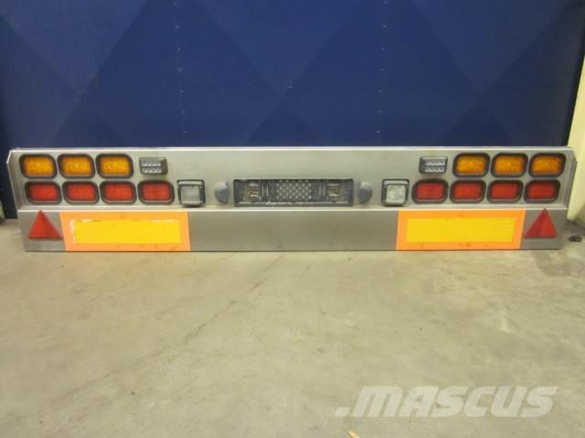 Used Scania achterbumper LED verlichting 12 VOLT cab & Chassis ...