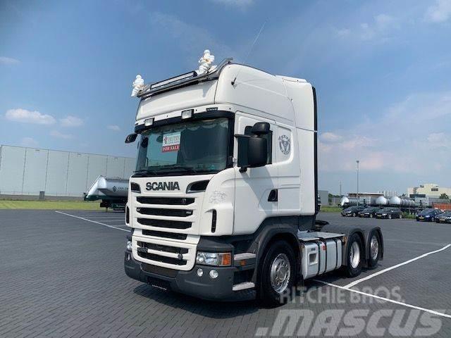 Scania R500 V8 R500,hydrauliek, Low km