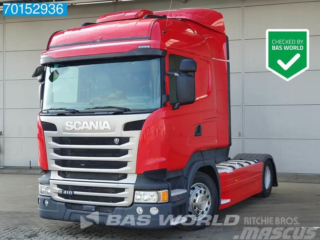 Scania R410 4X2 Mega Retarder Standklima ADR ACC 2x Tanks