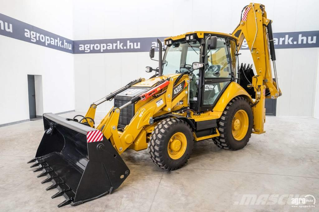 Caterpillar New 432F, Powershift 5/3, 40km/h, air conditioner