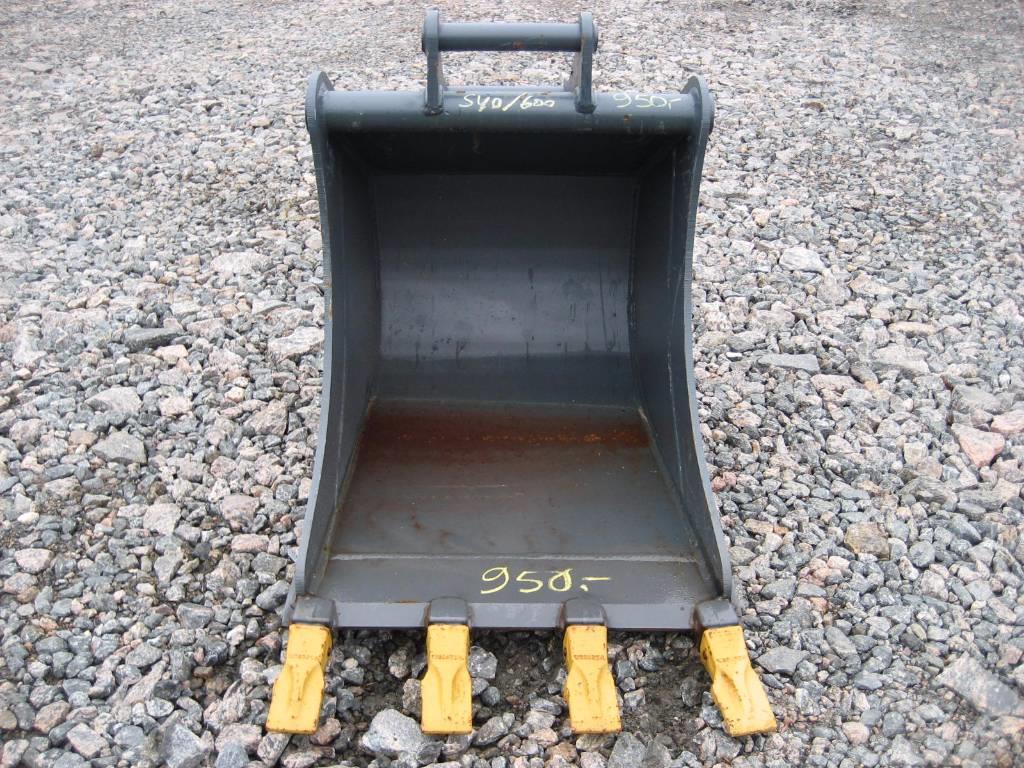 [Other] Kuokkakauha 650mm Kärsä Kynsillä S40 3-6tn koneet