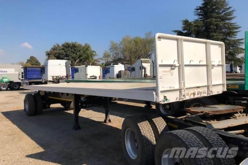 Afrit 9m single axle Flatdeck Trailer