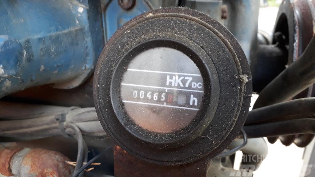 Valmet 612DSJ moottori osina