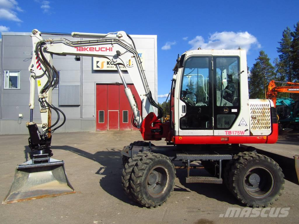 Takeuchi Myyty! Sold! TB175W