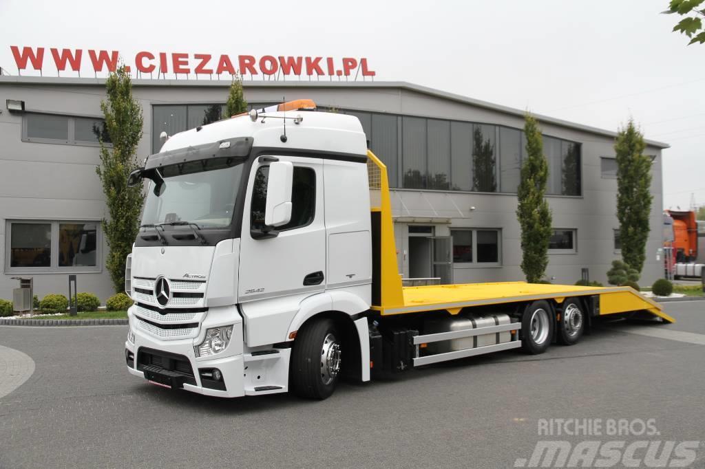 Mercedes-Benz TOW TRUCK AUTOTRANSPORTER  ACTROS 2542 E6 MP4