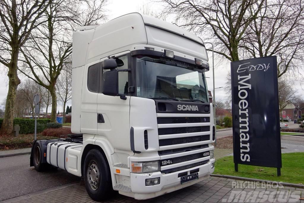 Scania R 124L 420 Topline