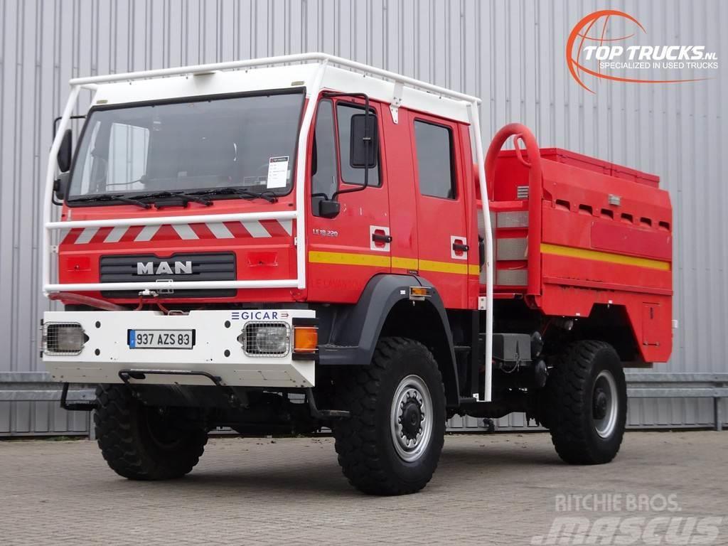 MAN LE 18.220 4x4 - GIMAEX - Rosenbauer - feuerwehr -