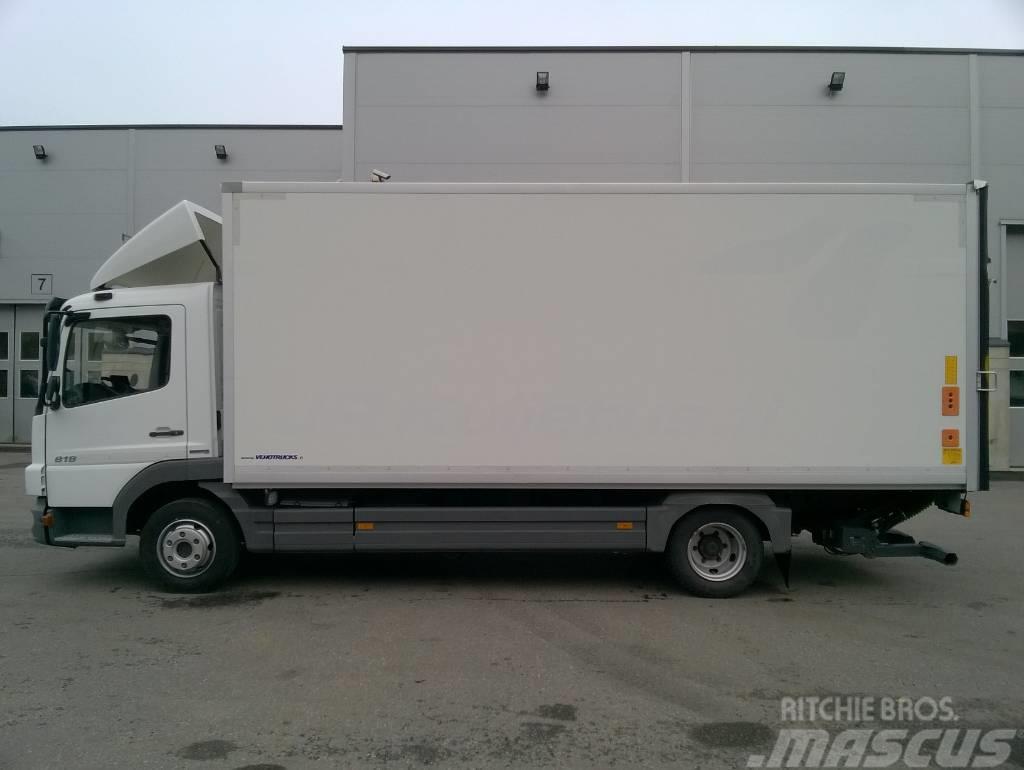 Used mercedes benz atego 818l box trucks year 2013 price for Mercedes benz box truck for sale
