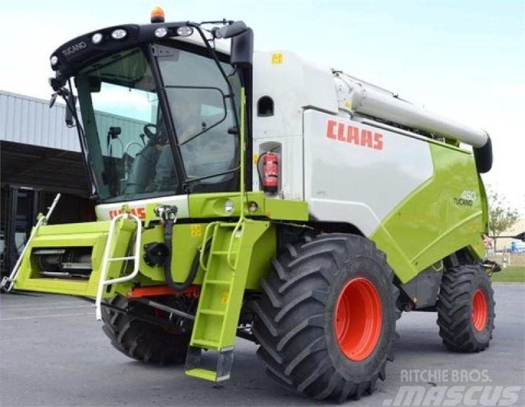 CLAAS tucano 450 mit mercedes motor