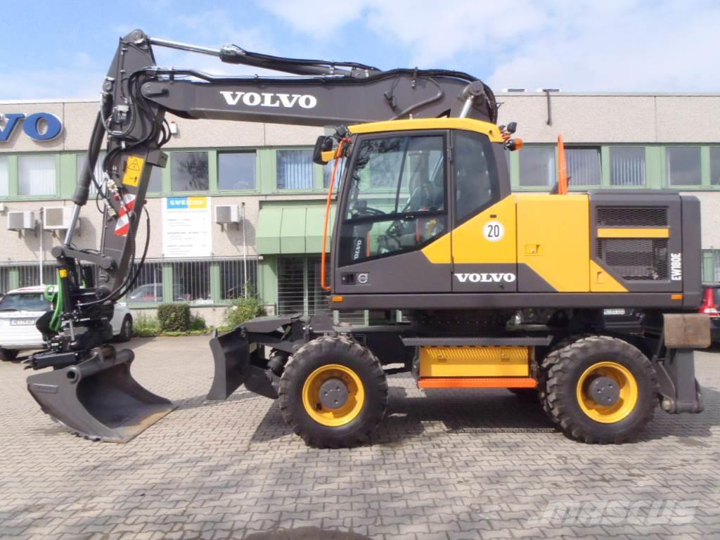 volvo ew180e mit tiltrotator x20 bss monheim preis 175. Black Bedroom Furniture Sets. Home Design Ideas