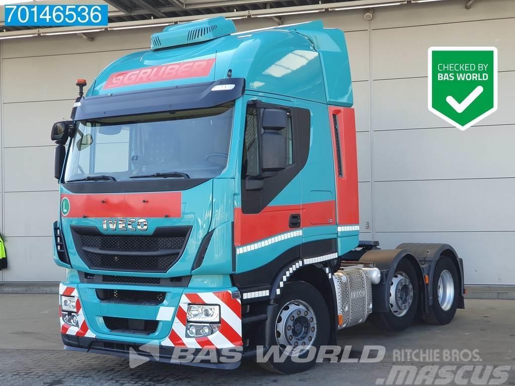 Iveco Stralis 480 6X2 Intarder ACC Standklima Lift+Lenka