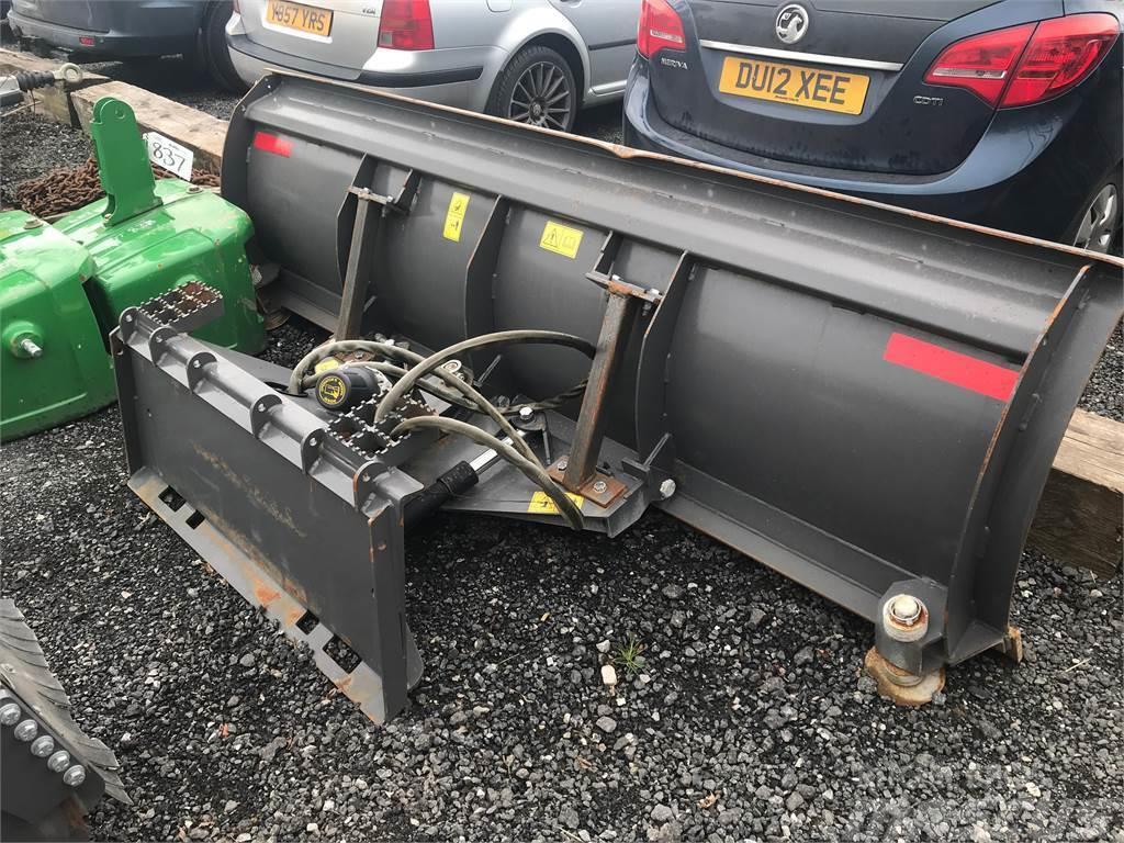 Volvo BM Skid Steer Snow Plough