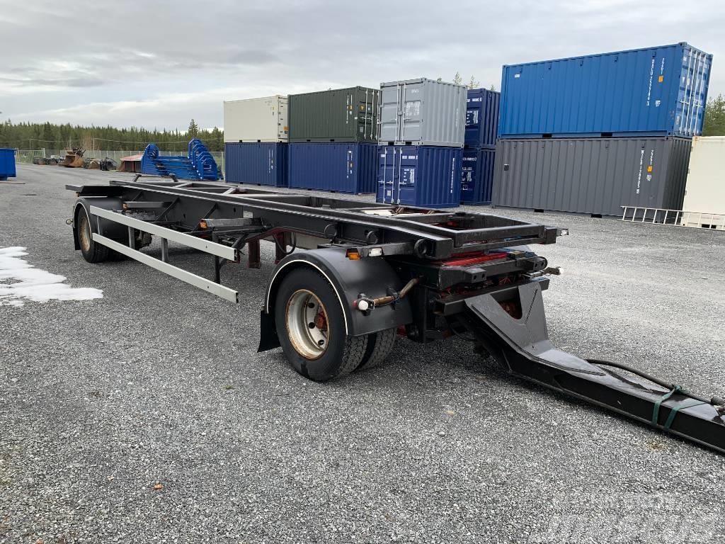 NTM 2-axlad lastväxlarvagn med tipp