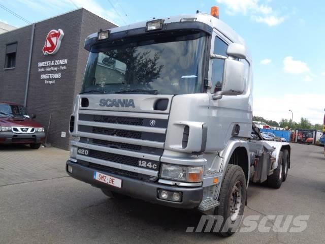 Scania 124 420 Lames Big axle