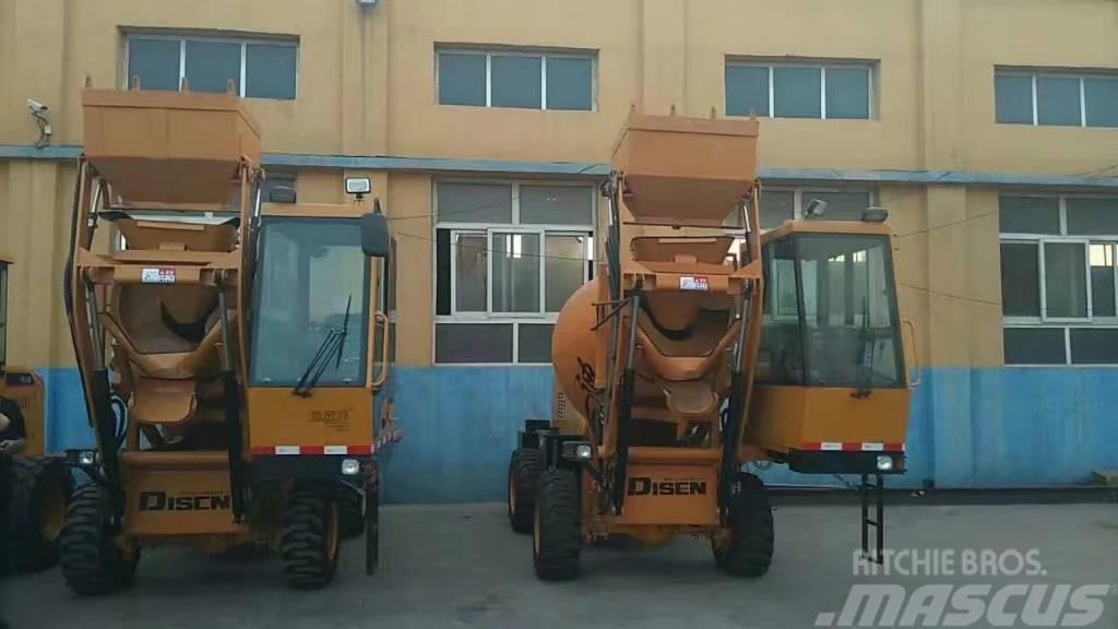 Disenwang 迪森 Concrete mixer  DZJC