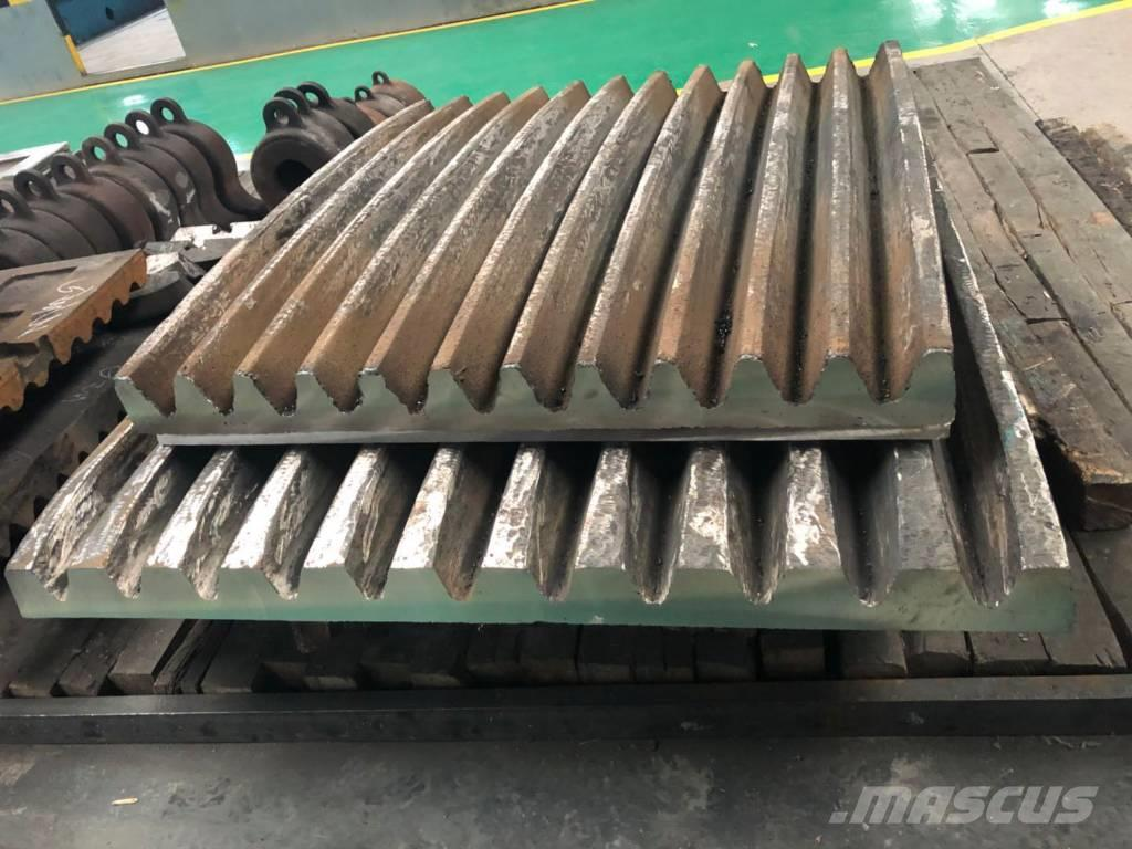 White Lai Jaw Plate for Jaw Crusher Wear Parts