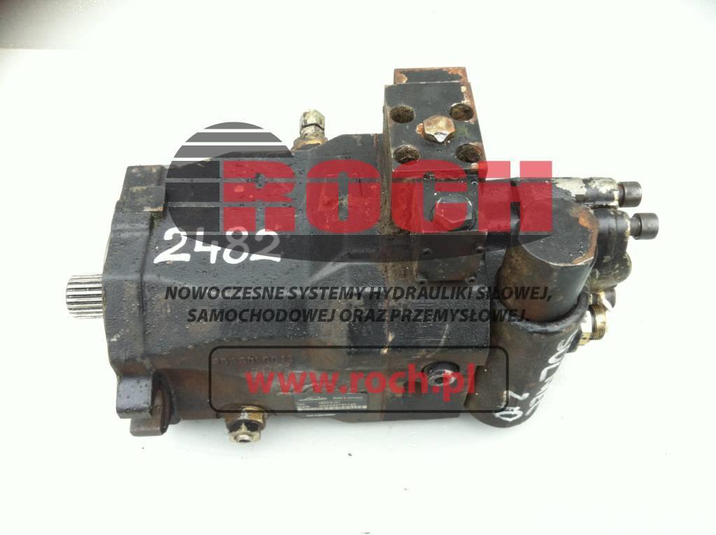 Solmec 210 Linde Silnik Motor HMR75-02 2651