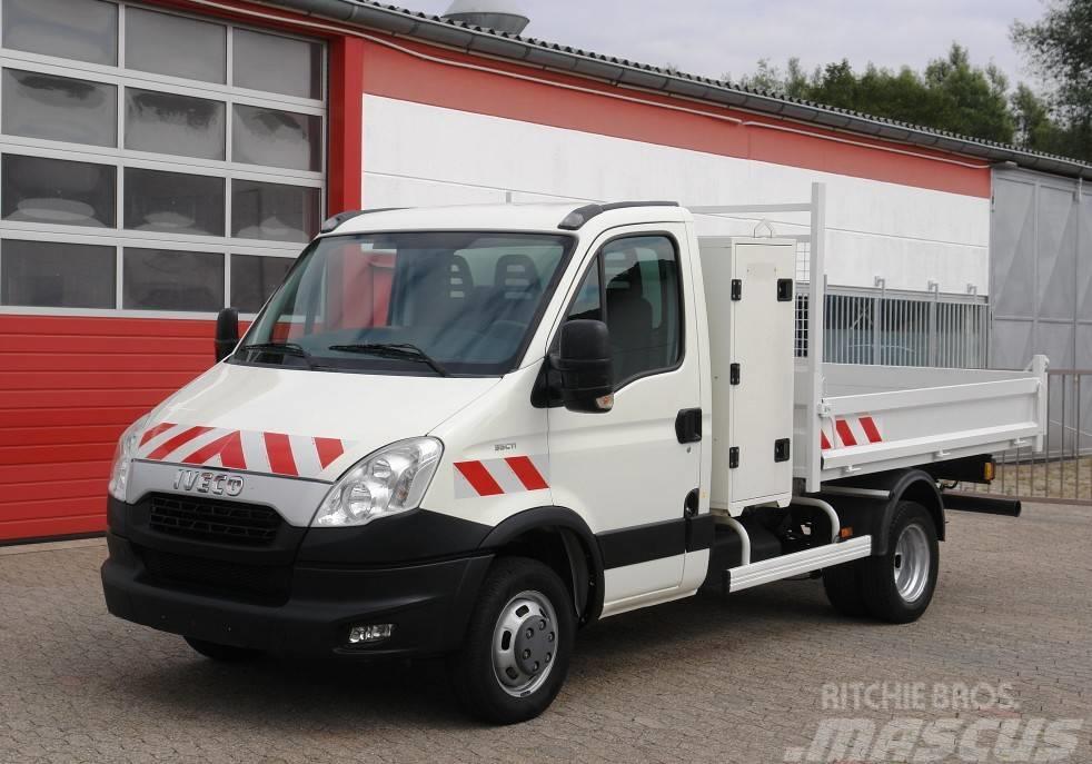 Iveco Daily 35C11 Kipper Werkzeugkasten Klima AHK E5 TÜV