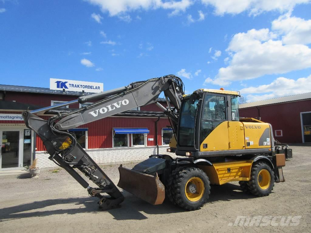 used volvo ew 160 delar parts wheeled excavators for sale. Black Bedroom Furniture Sets. Home Design Ideas