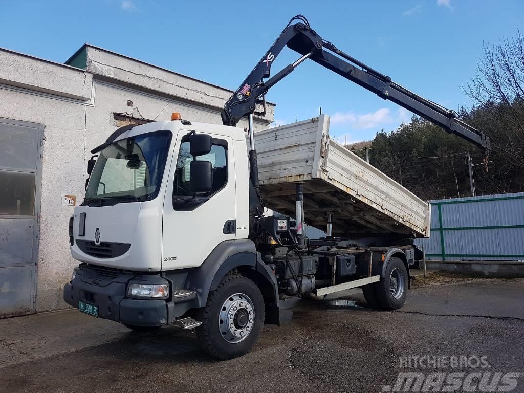 Renault MIDLUM 240.14 4x4 S3 + HIAB 099B-3 -