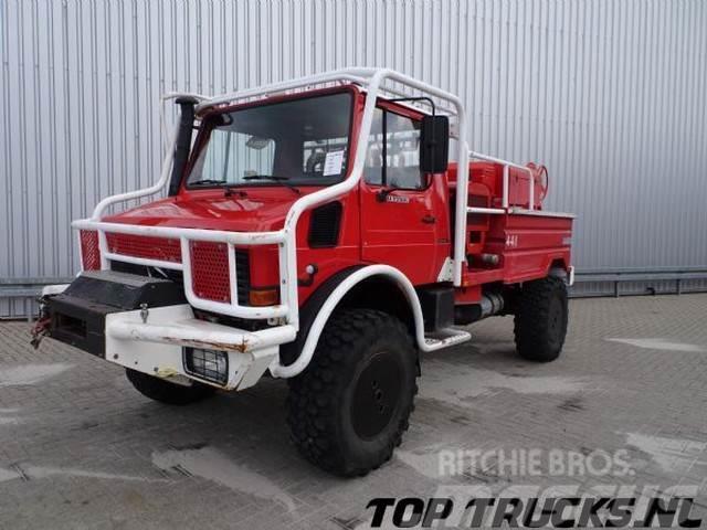 Unimog MB U1550 L37 - Fire Truck - Lier, Winch, Winde - W