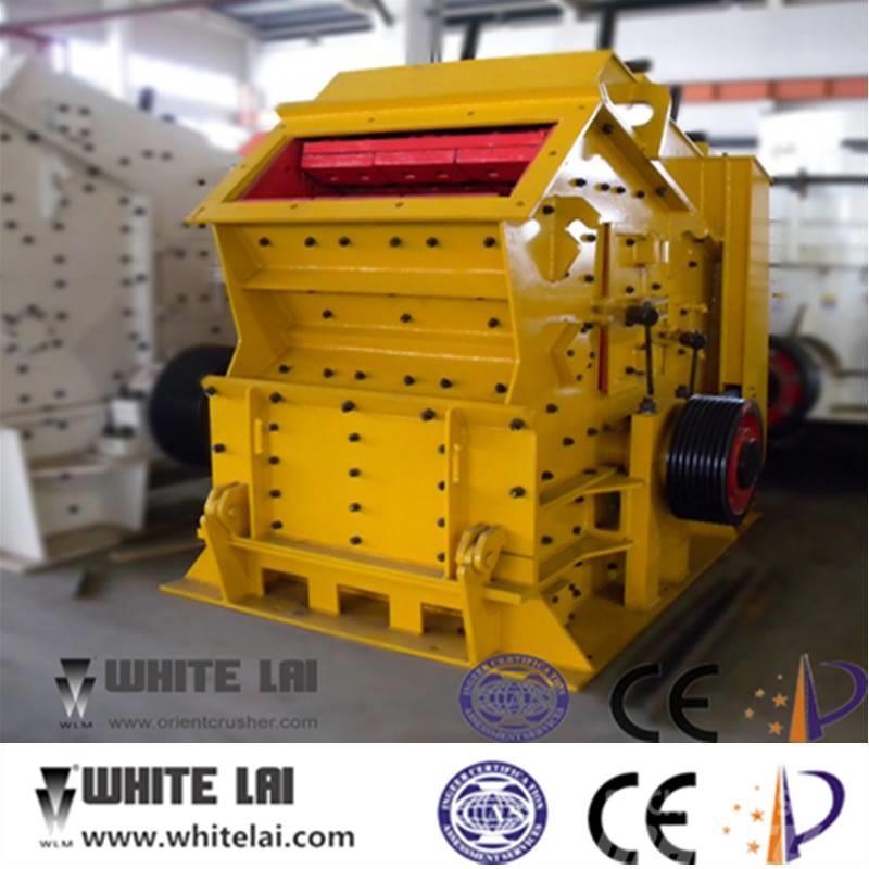 White Lai Stone Rock Impact Crusher Machine PF1210