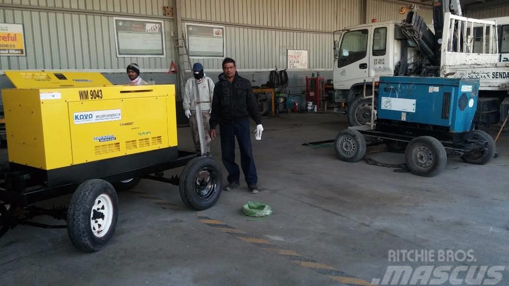 Kubota diesel welder EW400DST