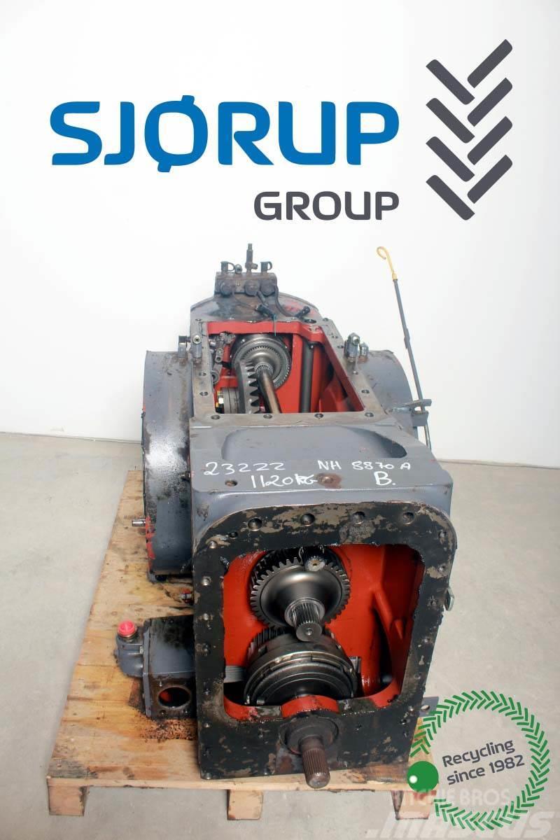 New Holland 8870 A Rear Transmission