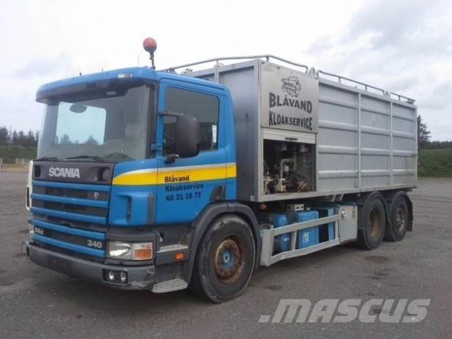 Scania P 114 6x2 KSA Vacuum Manual