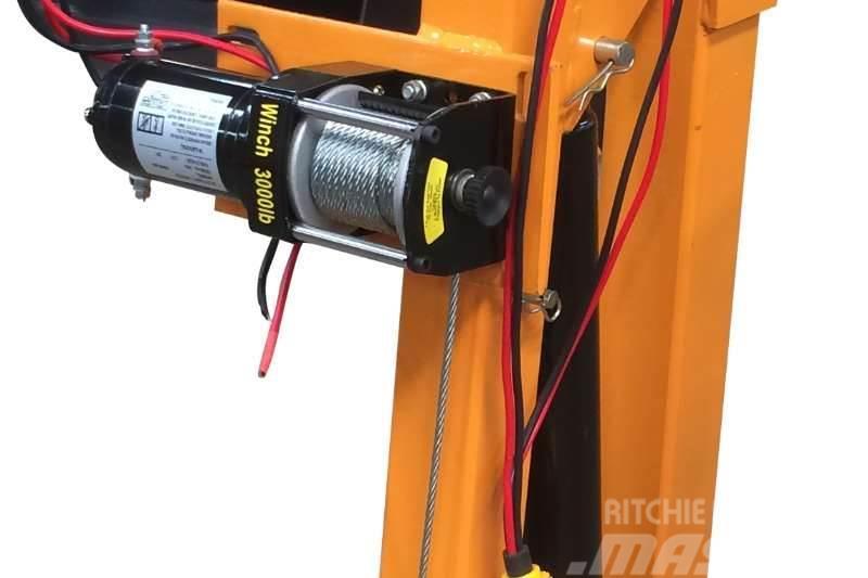 Sino Plant Jib Crane (Ldv) 600 Kg 12v Hydraulic Lift