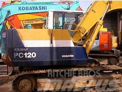 used komatsu pc120 5 crawler excavators year 1993 for. Black Bedroom Furniture Sets. Home Design Ideas