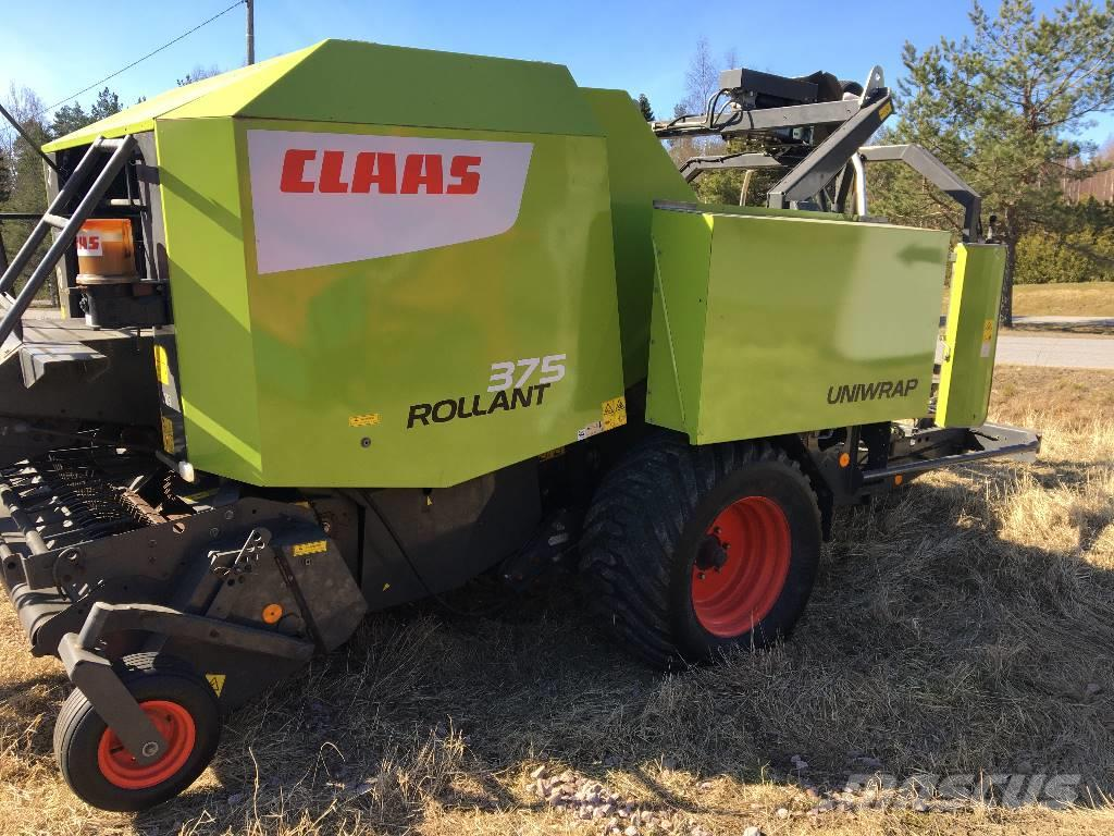 CLAAS Rollant 375 Uniwrap