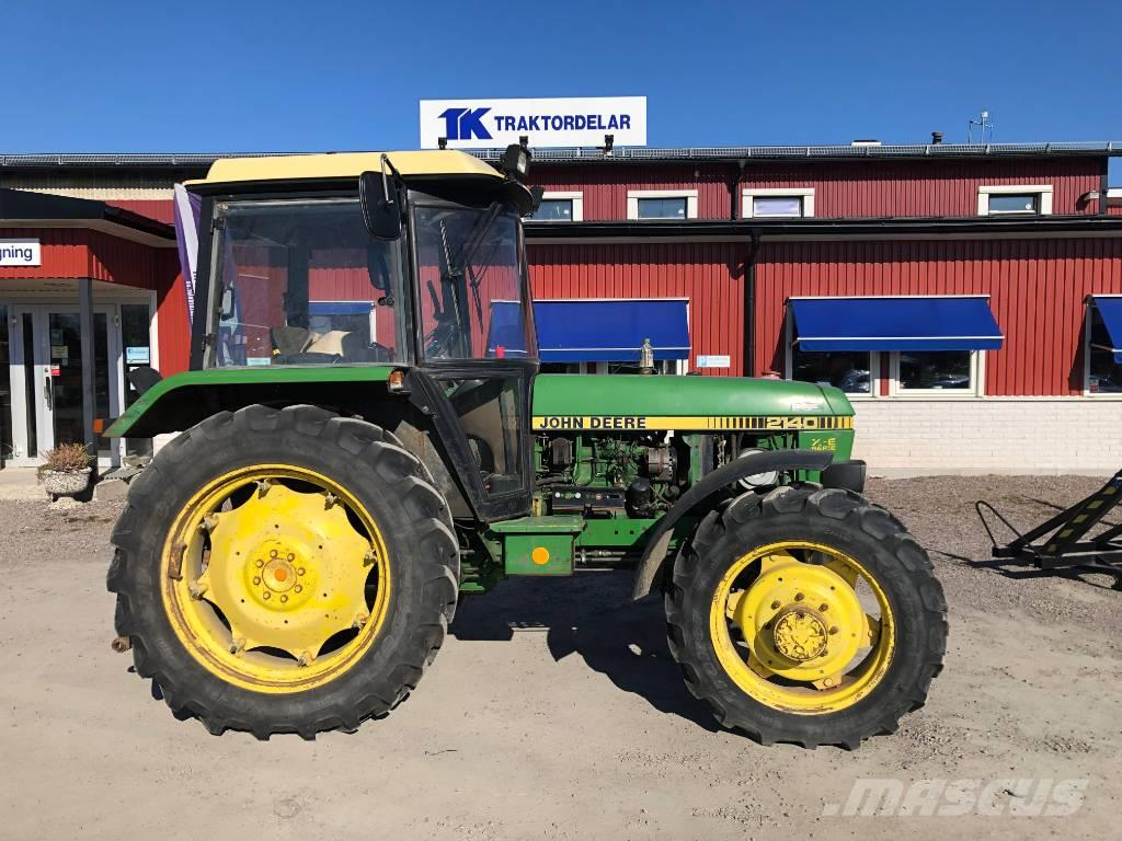 John Deere 2140 Dismantled: only spare parts