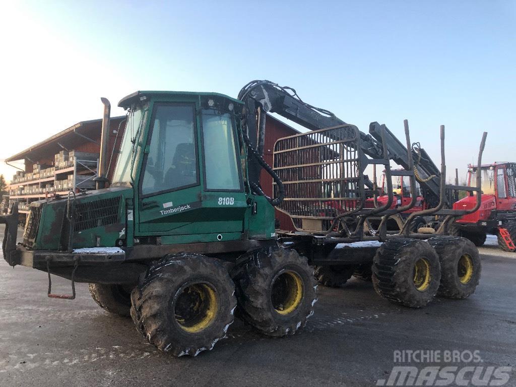 Timberjack 810B broneeritud