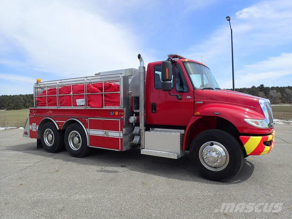 International Tanker Tender Fire Truck