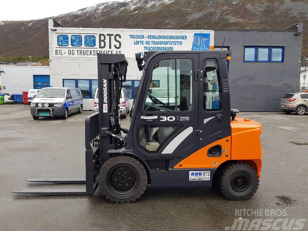 Doosan D30S-7 - 3,0 tonns dieseltruck (SOLGT)