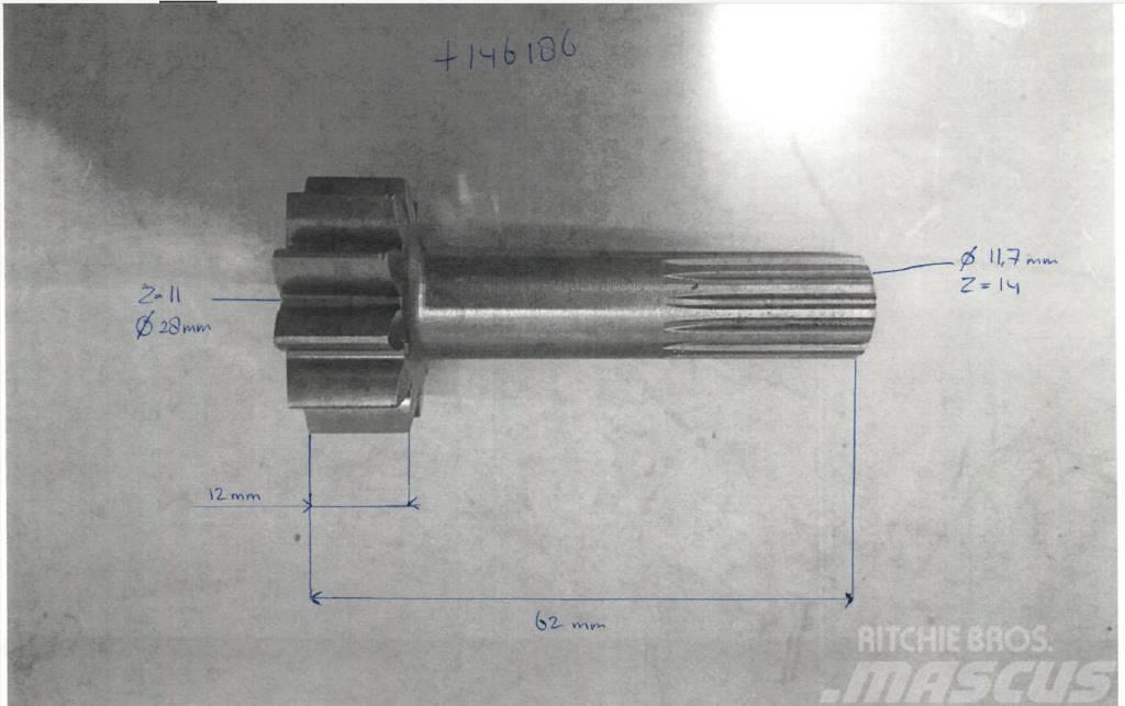 VTS SUNGEAR 11T 14T L=62mm