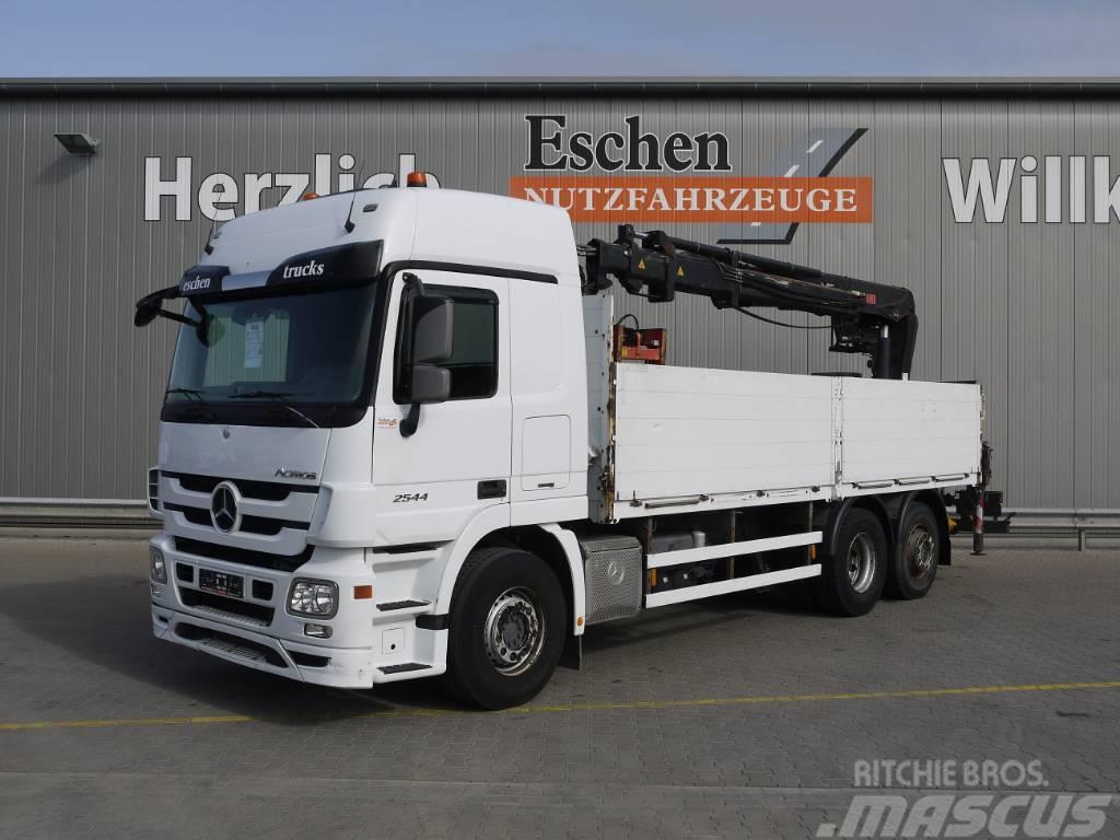Mercedes-Benz Actros 2544L, Hiab 166 K Pro, Retarder