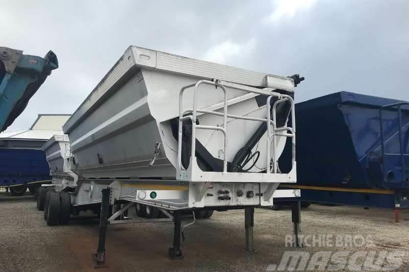 [Other] Hendred Alutip Aluminium 40m³ Interlink Side Tipp