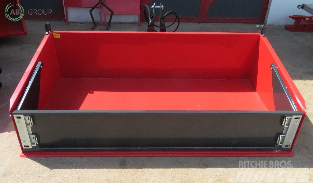 Inter-Tech Hydrauliczna skrzynia ładunkowa 2 m